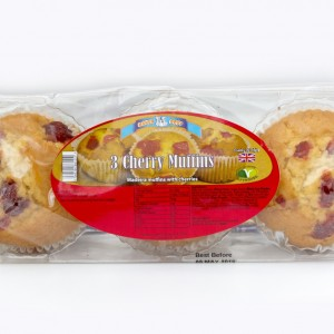 3 Pack Muffins